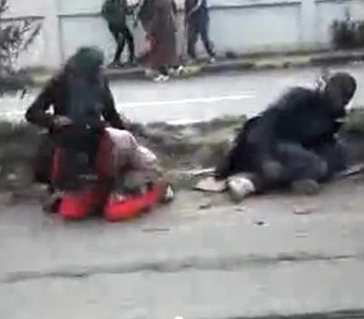 Les mercenaires de l'OTAN continuent de massacrer les manifestants pacifiques touaregs libyen à Janzour sous couvert de l'ONU