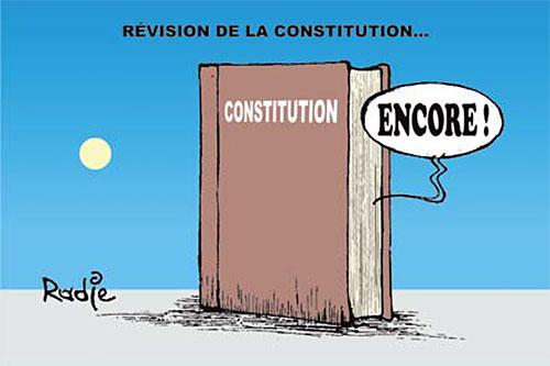 Algérie : Constitution de 2016 : Quelques corrections.