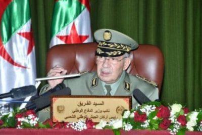 Le Général de Corps d'Armée Ahmed Gaïd Salah, Vice-Ministre de la Défense Nationale, Chef d'Etat-Major de l'Armée Nationale Populaire