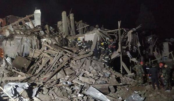 Les forces armées arméniennes bombardent à nouveau la ville azerbaïdjanaise de Ganja
