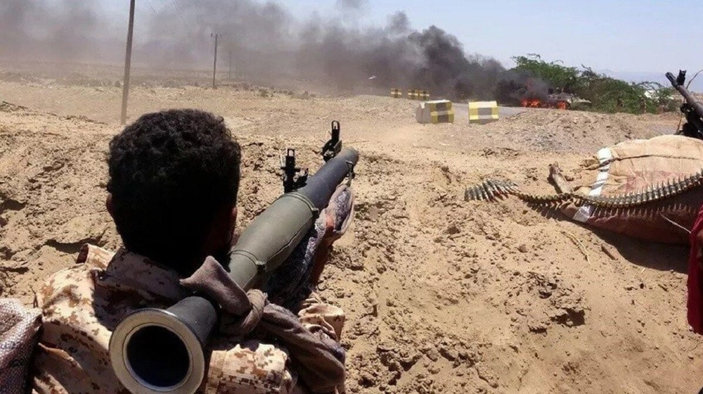 Les combattants d'Ansarallah à Maarib. ©Harbi Press